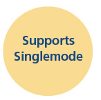 Supports Single Mode