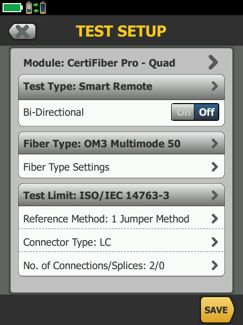 Fiber Types and Testing Attributes