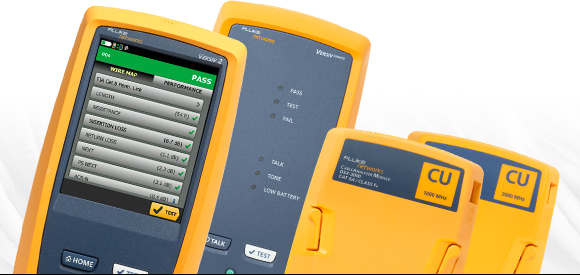Fluke Networks DSX CableAnalyzer Series