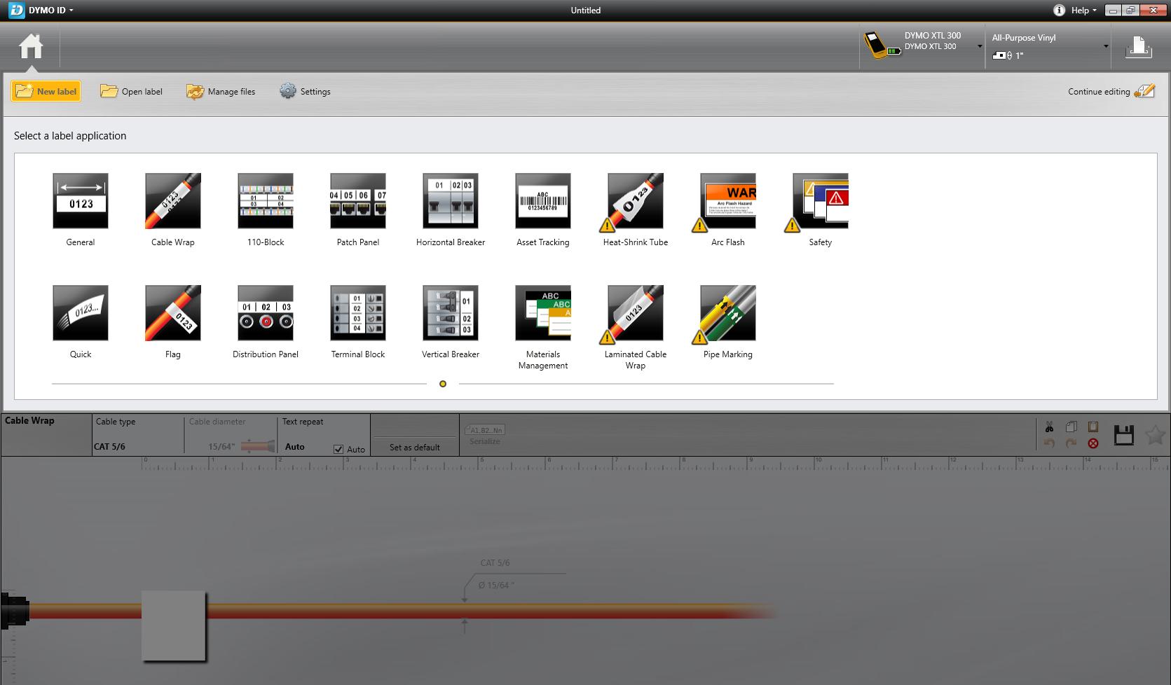 Using DYMO® XTL™ Label Makers with LinkWare Live | Fluke