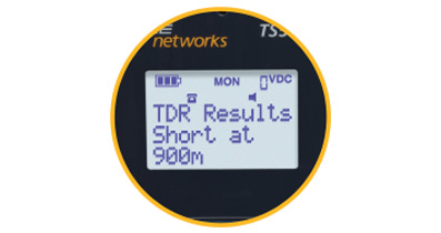 Extra-Large Backlit LCD Screen in TS-54 TDR
