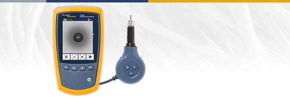 Visor de inspección de terminación óptica Micro-Fiber