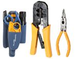 Herramientas crimpadoras y herramientas de terminación