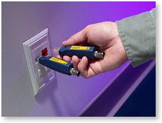 利用 CableIQ 定位安装的线缆