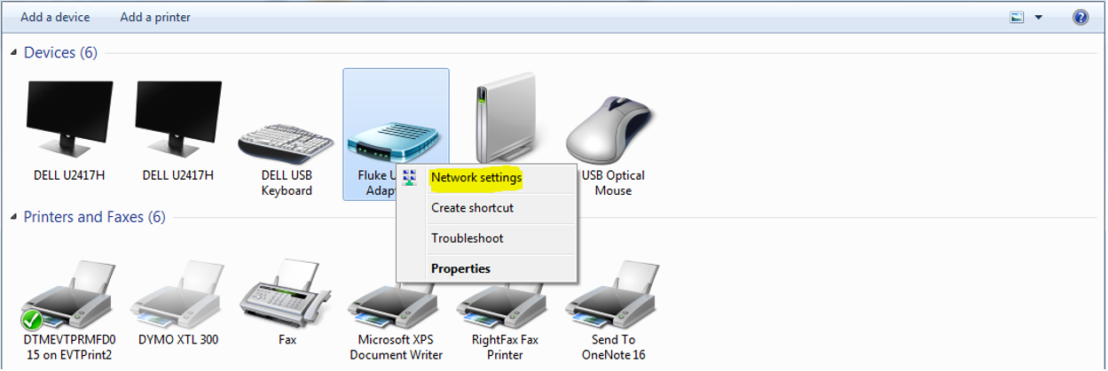 Cannot connect to LinkWare PC   Fluke Networks