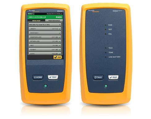 DSX CableAnalyzer™ 系列 - CAT 8 光缆认证仪