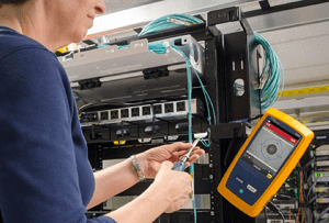 Fiber End Faces inspection with Fluke Networks' FI-7000 FiberInspector Pro