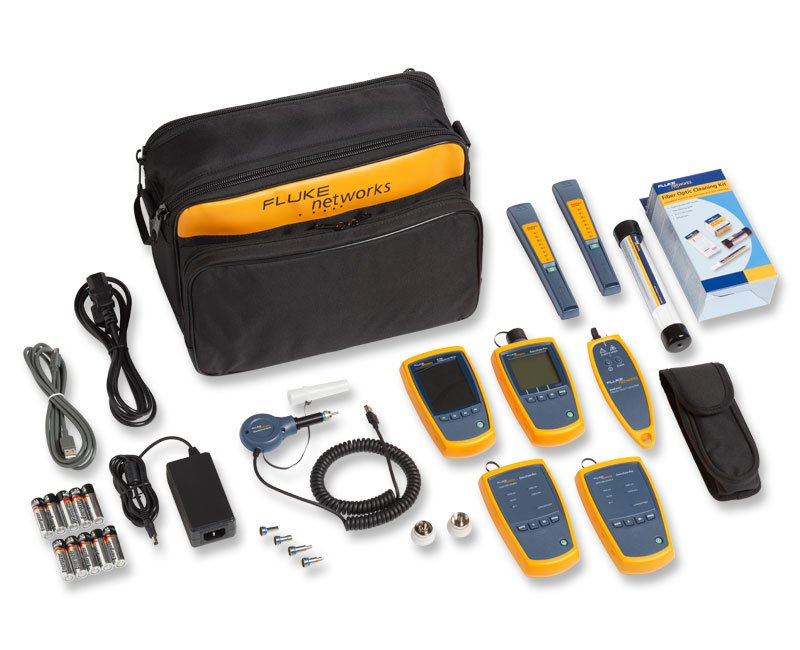 完整的光纤检验工具包