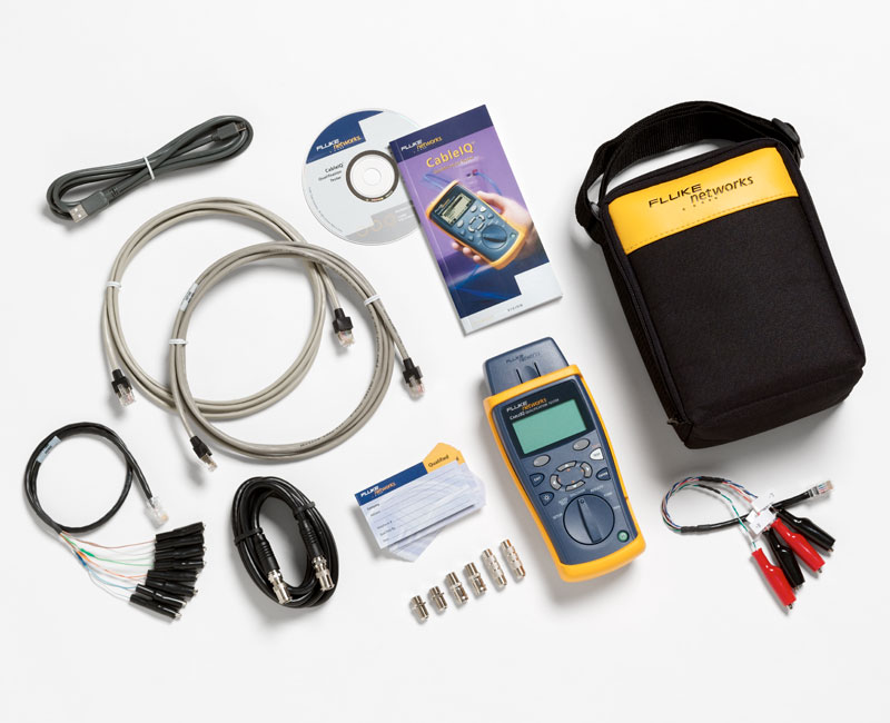 CableIQ Qualification Tester | Ethernet Network Cable Tester