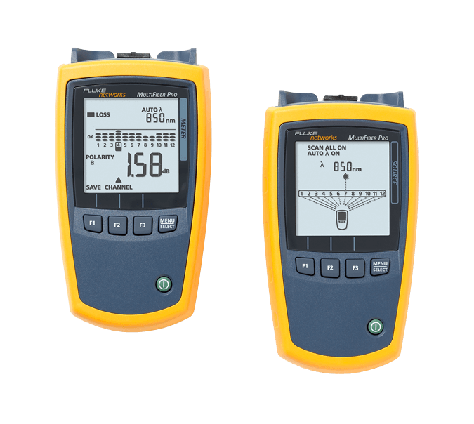 Fluke Networks multifibre ™ Pro MPO Power Meter