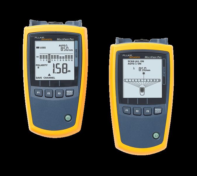 Medidor de potencia MPO MultiFiber Pro