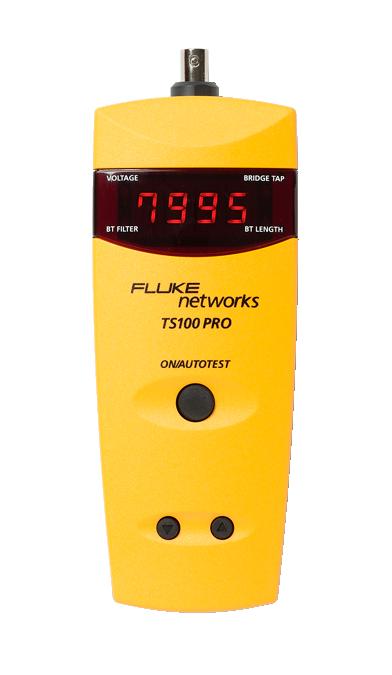 Fluke Networks TS®100 PRO Cable Fault Finder