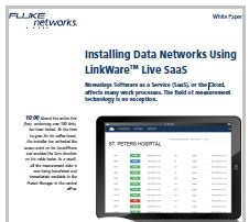 Installing Data Networks Using LinkWare