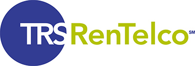 Logotipo de TRS RenTelco