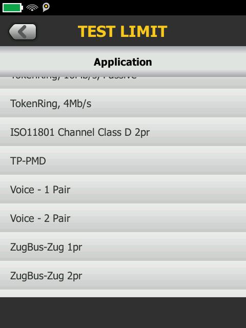 Voice Pair Screen