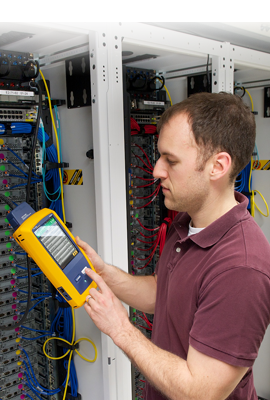 Cable Testing Using DSX Cable Analyzer