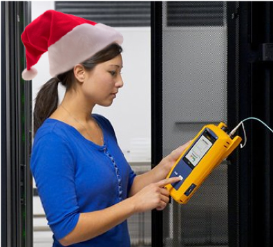 Happy Testing & Holidays to All – Fluke Networks