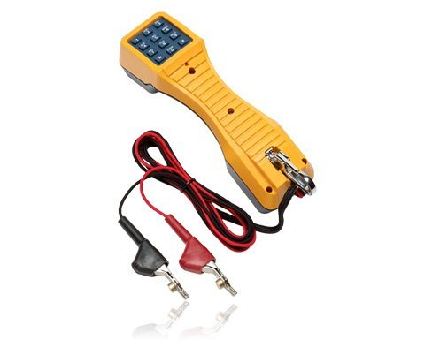 FLUKE NETWORKS 19800-009 TS19 BUTT-IN TEST SET W/ ANGLED BED OF NAILS CORD