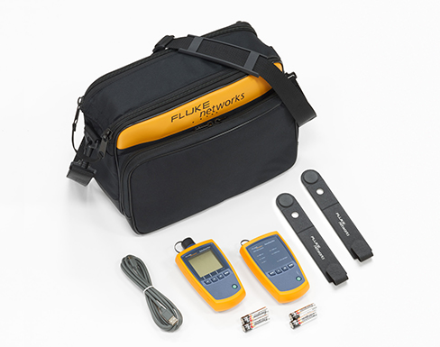 Kit de verificación de fibra monomodo y multimodo