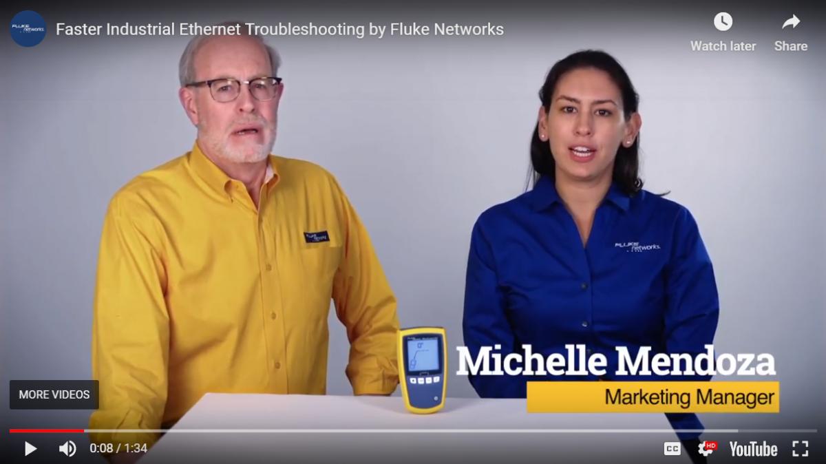 Schnellere Industrial Ethernet-Installationen durch Fluke Networks