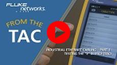 """视频:工业以太网线缆 – 测试 MICE 中的 """"E"""""""