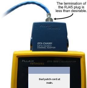 RJ45 Patch Cord Plug Termination