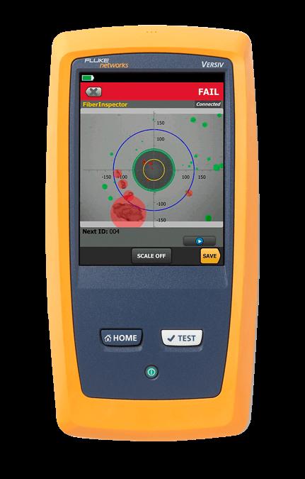 FI-7000 FiberInspector Pro с наконечником MPO
