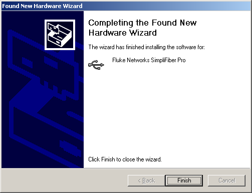 Found New Hardware Installed