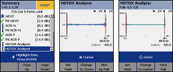 HDTDX Analyzer Trace