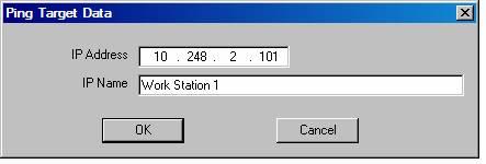 Ping Target Utility - LinkWare