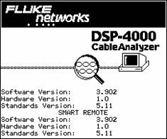 Special Function Screen in DSP-4000