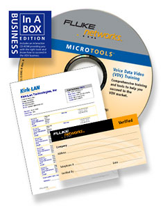 Fluke Networks Business in a Box