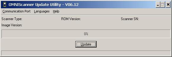 OMNIScanner Update Utility