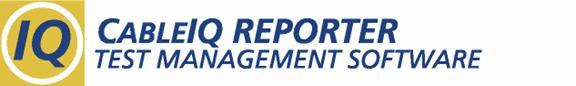 Fluke Networks CableIQ Reporter Logo