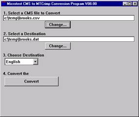 CSV to Dat File Conversion