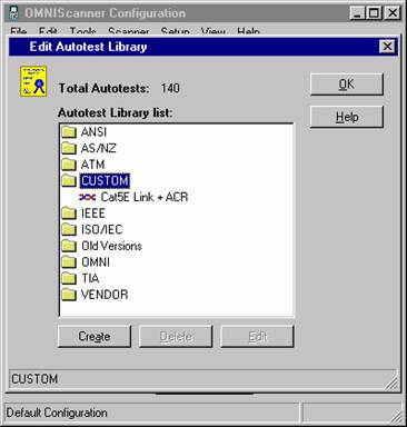 Custom Autotest Folder