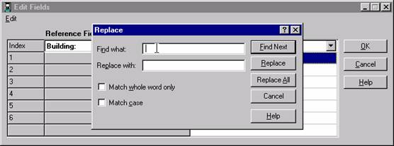 Replace Space with Word Screen