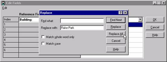 Replace All Space with Word Screen