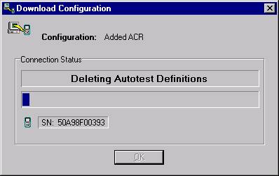Download Configuration Window