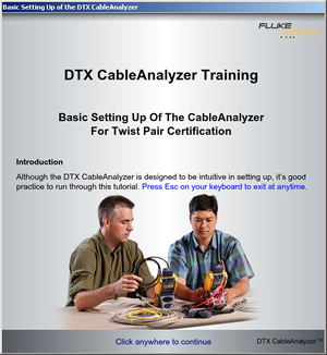 Bidirectional Cable Testing at Fluke Networks