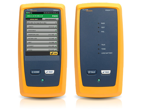 DSX CableAnalyzer Series Copper Cable Certifiers for Current ...
