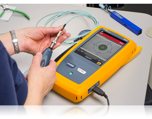 Fiber Optic Testers | Fluke Networks