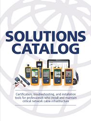 Solution Catalogs - Fluke Networks