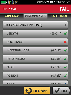Performance Test in Versiv 5.6