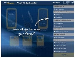 Configurador do kit Versiv